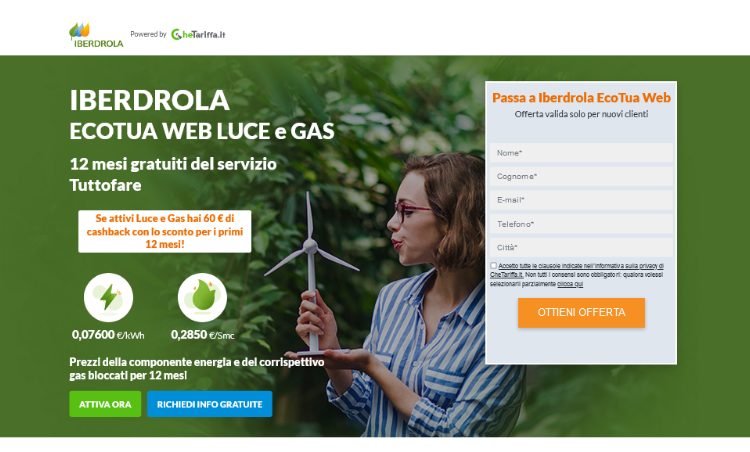 Iberdrola EcoTua Web