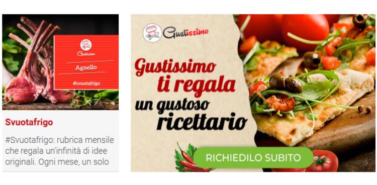 Con Gustissimo, ricette super fantasiose!